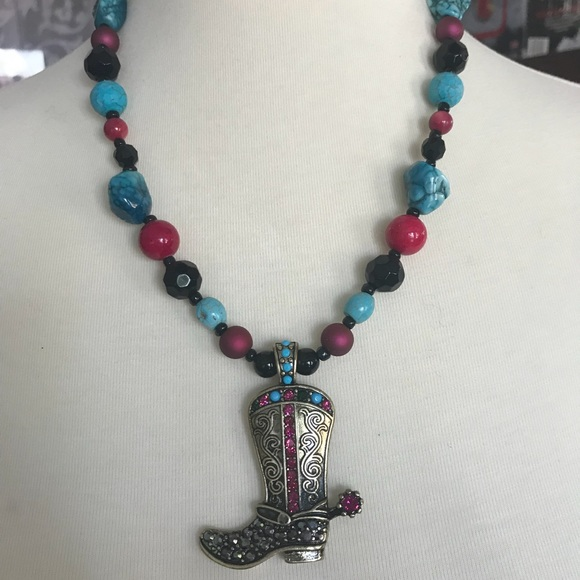 Jewelry - Cowboy Boot Necklace